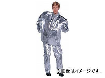 ENCON 全アルミ耐熱服 上衣 5010-3L(8192921)