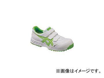 アシックス ウィンジョブ41L ホワイト×ジャスミングリーン 24.5cm FIS41L.0184-24.5(7847190)