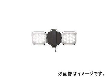 ムサシ 12W×2灯 フリーアーム式LEDセンサーライト LED-AC2024(8188775)