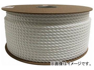 ユタカ ポリエチレンロープドラム巻 9mm×150m ホワイト PRE-57(7947640)