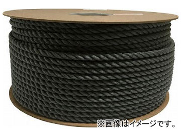 ユタカ ポリエチレンロープドラム巻 9mm×150m グレー PRE-58(7947658)