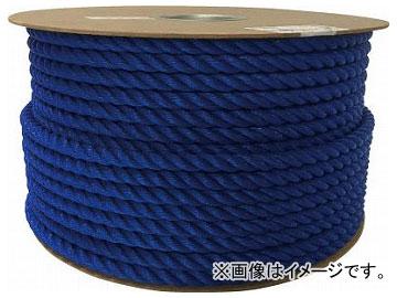 ユタカ ポリエチレンロープドラム巻 12mm×100m ブルー PRE-62(7947682)