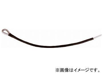 高木 メジャーロープ 両端シンブル加工 6mm×100m 36-6604(8189285)