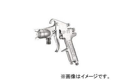 送料無料! アネスト岩田 中形スプレーガン 吸上式 ノズル口径 φ1.5 W-77-11S(8052354)