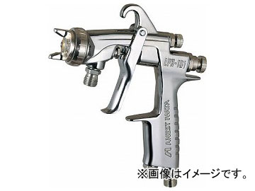 アネスト岩田 金属・木工・樹脂塗料用低圧スプレーガン φ0.8 LPH-101-081P(7920491)