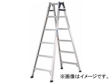 アルインコ 幅広踏ざん(55mm)はしご兼用脚立PRS-W PRS210WA(8202633)