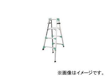 ハセガワ 脚部伸縮式アルミはしご兼用脚立 RYZ型 4段 RYZ1.0-12(8246637)