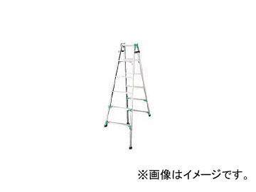 ハセガワ 脚部伸縮式アルミはしご兼用脚立 RYZ型 6段 RYZ1.0-18(8246639)