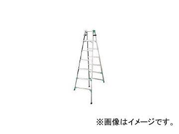 ハセガワ 脚部伸縮式アルミはしご兼用脚立 RYZ型 7段 RYZ1.0-21(8246640)