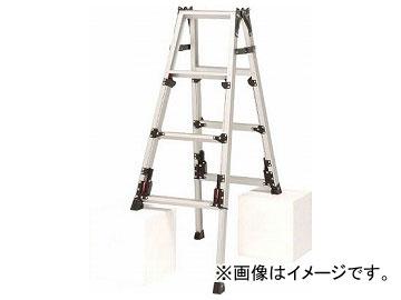 ピカ 四脚アジャスト式脚立スーパーかるノビSCN型 SCN-120(8183898)