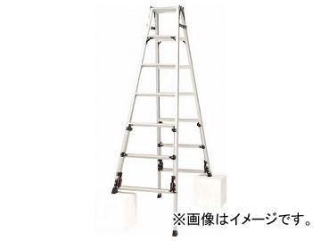 ピカ 四脚アジャスト式脚立スーパーかるノビSCN型 SCN-210(8183901)