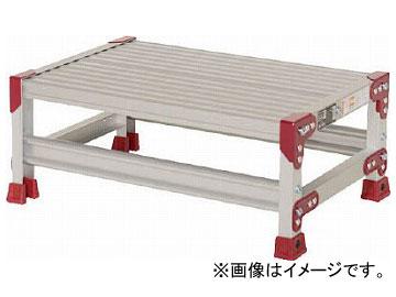 ピカ 作業台 ZG型 1段 幅60cm高さ25cm ZG-1625(7950632)