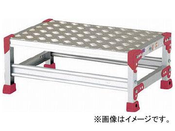 ピカ 作業台 ZG-P型縞板仕様 1段 幅60cm高さ25cm ZG-1625P(7950641)
