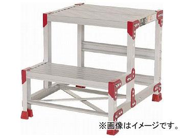 ピカ 作業台 ZG型 2段 幅50cm高さ50cm ZG-255(7513348)