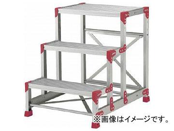 ピカ 作業台 ZG型 3段 幅60cm高さ75cm ZG-3675(7513356)