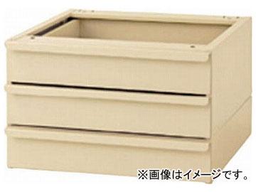 ヤマテック ワークテーブル用オプション 3段キャビネット S3-IV(7875827)