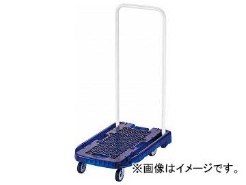 トラスコ中山 アクロ PC製 省音車輪 600×390 ブルー透明 AC-1PC-B(8194954)