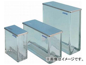 カマグ 二槽式展開槽 20×20cm ガラス蓋付 022-5255(7924861)