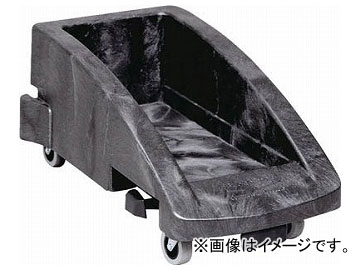 エレクター スリムジムコンテナ用トロリー ブラック 3551-8807(8194510)