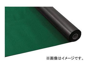 トラスコ中山 塩ビマット ダイヤ型 グリーン 1.5mm×915mm×20m TEDM-920-GN(7805306)