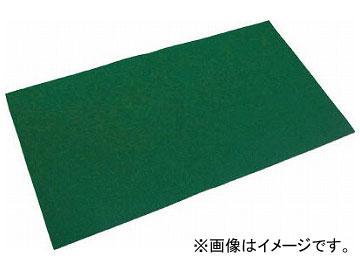 トラスコ中山 オイルキャッチャーマット 緑 フィルム付 500×900 TOCF-5090-10(7915896) 入数:1袋(10枚)