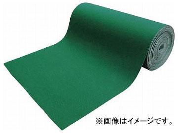 トラスコ中山 吸油・吸水ロールマット 緑 フィルム付 幅900mm×25m TFGN-F-925(7915811)
