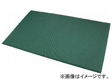 カーボーイ 足腰マット 穴なし Lサイズ グリーン AM03GR(7832419)