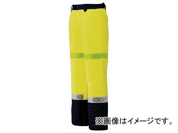 ジーベック 800 高視認防水防寒パンツ M イエロー 800-80-M(7996276)