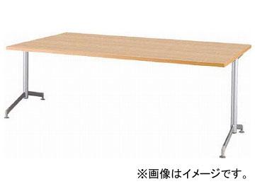 アイリスチトセ リフレッシュテーブル フーク T字脚 1500×750 ナチュラル CFKTT1575G-NA(7902239)