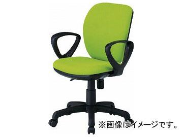 TOKIO オフィスチェア ループ肘付 モスグリーン FST-77A-MG(8184959)