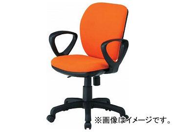 TOKIO オフィスチェア ループ肘付 オレンジ FST-77A-OR(8184961)