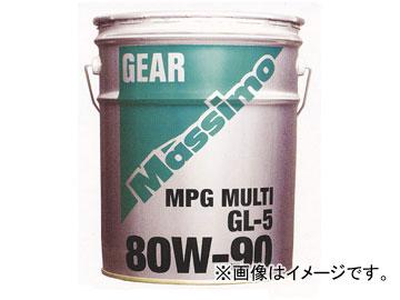 富士興産 マッシモ/MASSIMO ギヤーオイル MPGマルチ 80W-90 200Lドラム 【smtb-F】