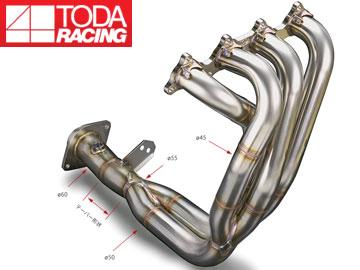 戸田レーシング/TODA RACING エキゾーストマニフォールド Ver.2(4-2-1 SUS) 18100-DC2-981 インテグラ typeR 98spec DC2/DB8 B18C