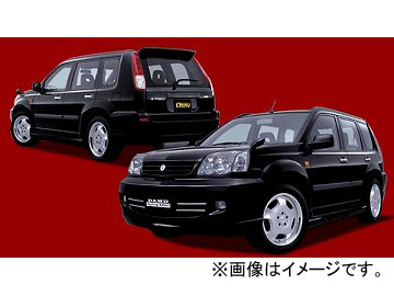 ダムド BLACK×METAL フロントバンパー ニッサン エクストレイル T30