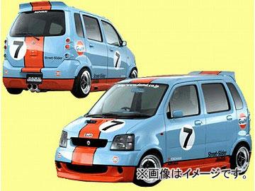 ダムド STREET SLIDER リアバンパー スズキ ワゴンR MC11S, 21S/12S, 22S