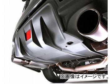 ダムド STURM リアアンダーディフューザー(純正リアバンパー用) マットブラック塗装品 スバル インプレッサ WRX STI CBA-GVB・GVF・GRB・GRF 2010年01月~