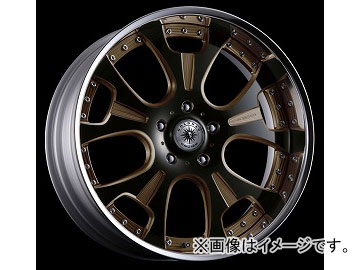 ダムド GOLDMAN CRUISE ホイール FORGED 3PIECE MODEL 24インチ BLACK ALUMITE MACHINING BRONZE CREAR 5穴/P.C.D150 24×9.5J