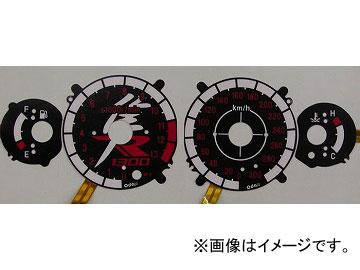 2輪 オダックス ELメーターパネル Mスタイル P042-7053 ブラックパネル スズキ GSX1300R ハヤブサ 2008年~