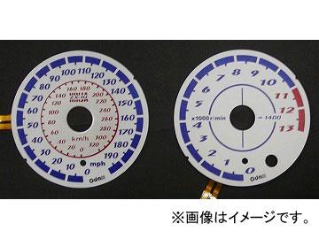 2輪 オダックス ELメーターパネル ASスタイル P042-7034 カワサキ ZX-14 2006年~