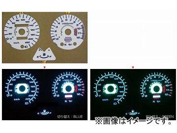 2輪 オダックス ELメーターパネル ACスタイル P042-7038 カワサキ ゼファー1100 JAP