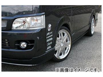 乱人 アイライングリル(一体式ネット付) トヨタ ハイエース 200系 標準ボディー
