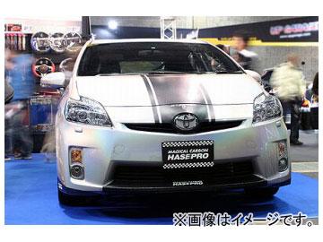 乱人 Black Edition フロントバンパー(LED ランプ無) トヨタ プリウス ZVW30