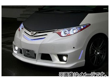 乱人 Black Edition アイライン(M/C前専用) 未塗装 トヨタ エスティマ アエラス GSR/ACR 50系 前期