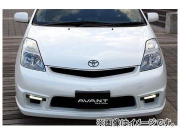 乱人 AVANT フロントバンパー(LEDデイライト&マウントキット付) トヨタ プリウス NHW20