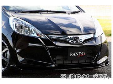 乱人 RANDO Style フロントアンダースポイラー ホンダ フィット ハイブリッド GP1 2010年10月~