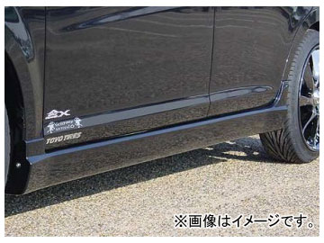 乱人 RANDO Style サイドステップ ダイハツ ムーヴ カスタム L-175S 前期 2006年10月~2008年11月