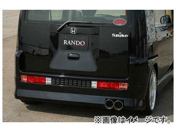 乱人 RANDO Style リアハーフスポイラー ホンダ モビリオ スパイク 前期 2002年09月~2005年11月