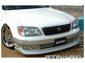 乱人 RANDO Style フロントハーフスポイラー トヨタ セルシオ 20系 後期