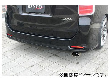 乱人 RANDO Style リアハーフスポイラー アタッチメント付 トヨタ ノア Si/S ZRR70W エアログレード車専用(前期)