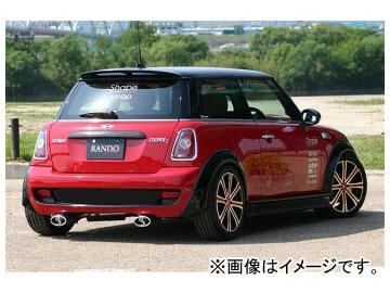 乱人 RANDO Style リアバンパーハーフカバー ノーマルバンパー車用 ミニ クーパーS R56